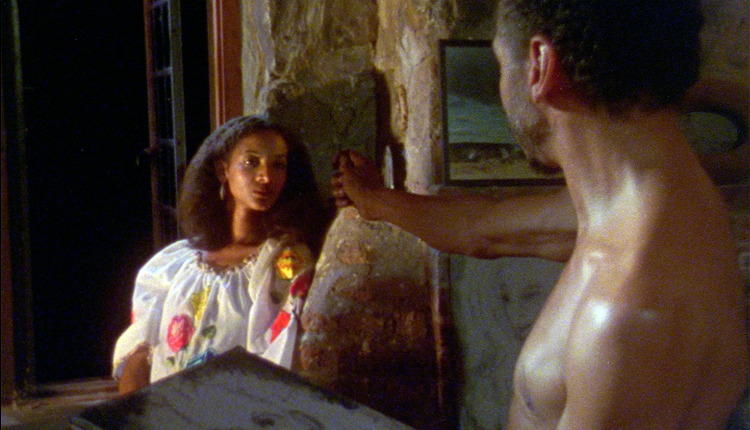 Seret Scott (as Sara) and Bill Gunn (Victor) in Kathleen Collins' 1982 African-American classic, LOSING GROUND, starring Seret Scott, Bill Gunn and Duane Jones. Restored by Milestone Films and Nina Lorez Collins, the film is to premiere at Lincoln Center on February 6, 2015.